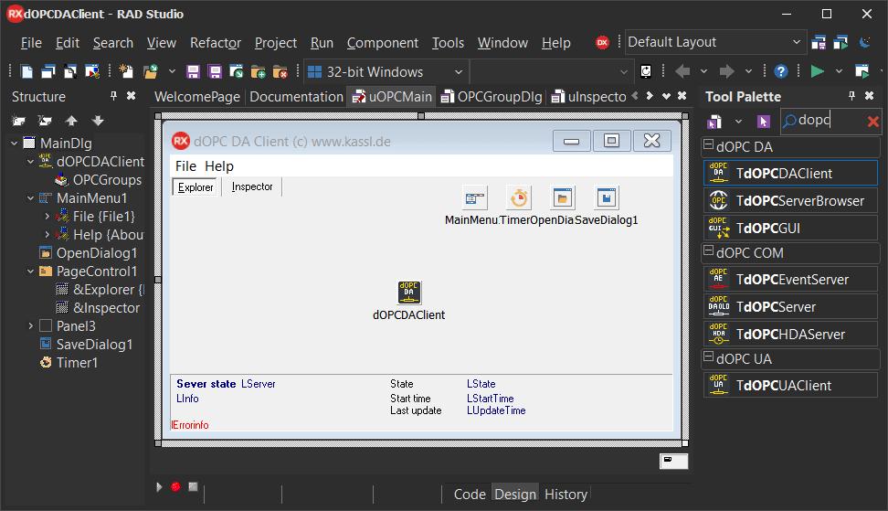 Delphi OPC UA Client Toolkit